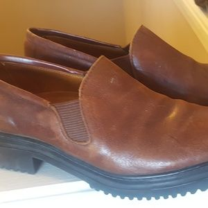 COLE HAAN Brown Leather Flats Shoes 7 M